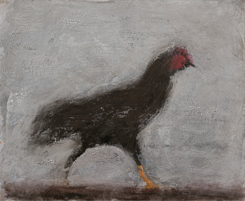 Striding Chicken